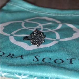 Kendra Scott druzy ring (size 7)